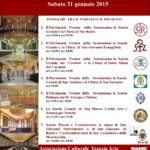 Venezia Arte organized the day of the Venetian Scuole (fraternities) on 31 January , 2015