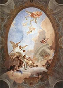 Tiepolo's fresco The Allegory of Merit