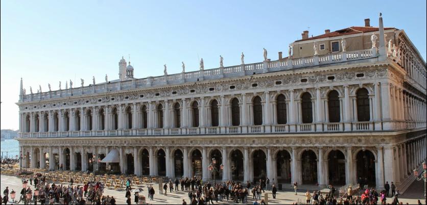 Visite guidate gratuite alla biblioteca marciana offerte for Scuola sansovino venezia