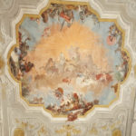 Detail of the Ball room ceiling of Ca' Rezzonico