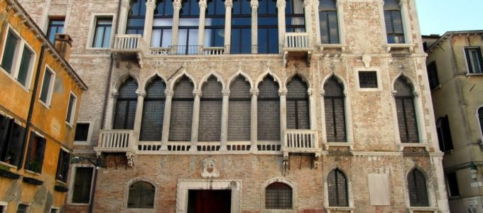 Fortuny palace in Venice